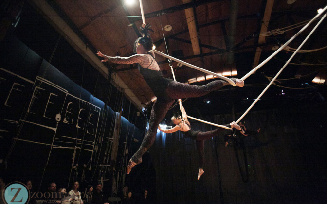 Canopy Studio Advanced Trapeze Show- Flight 2016